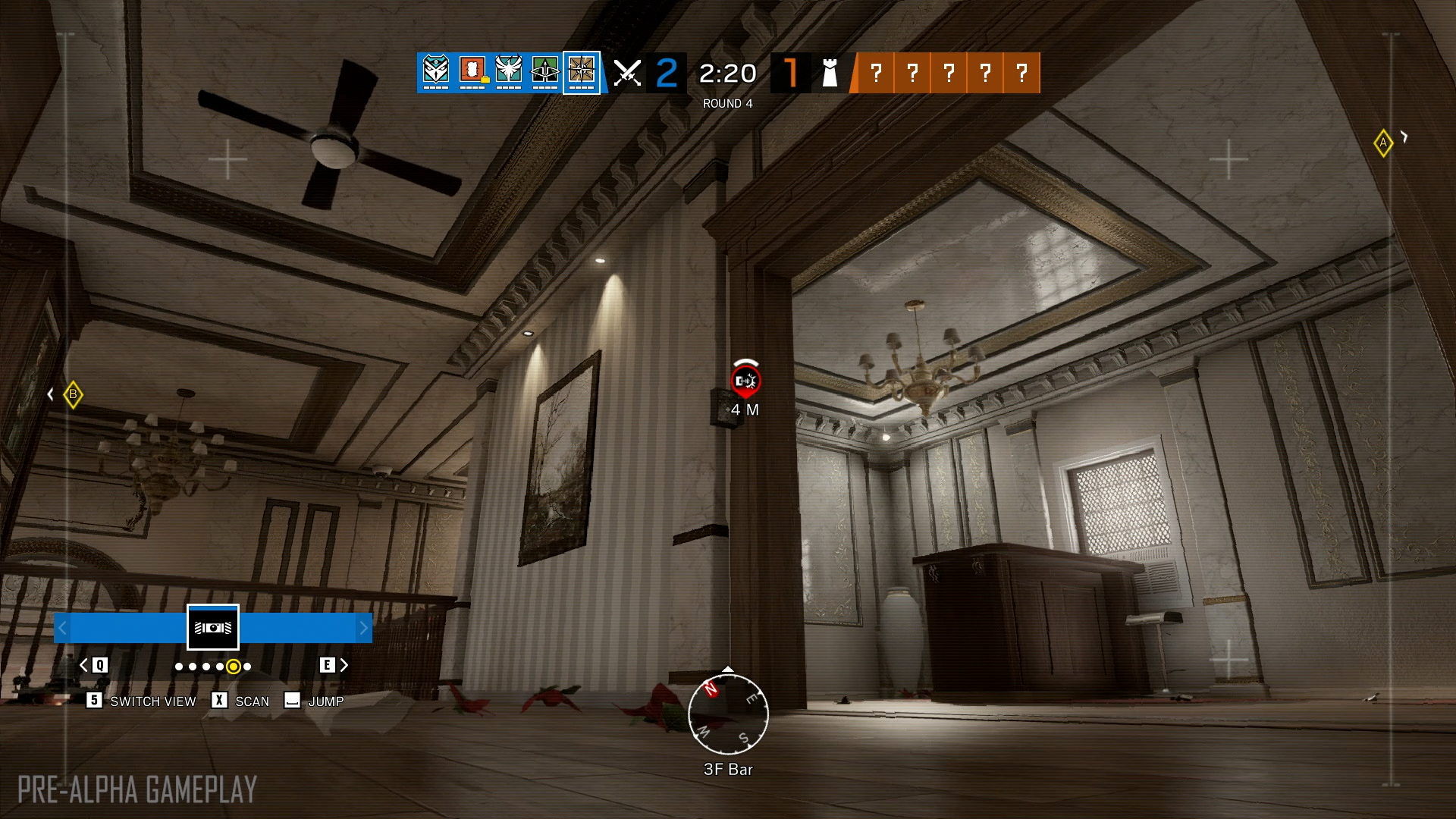 Rainbow 6 Updated Ping System