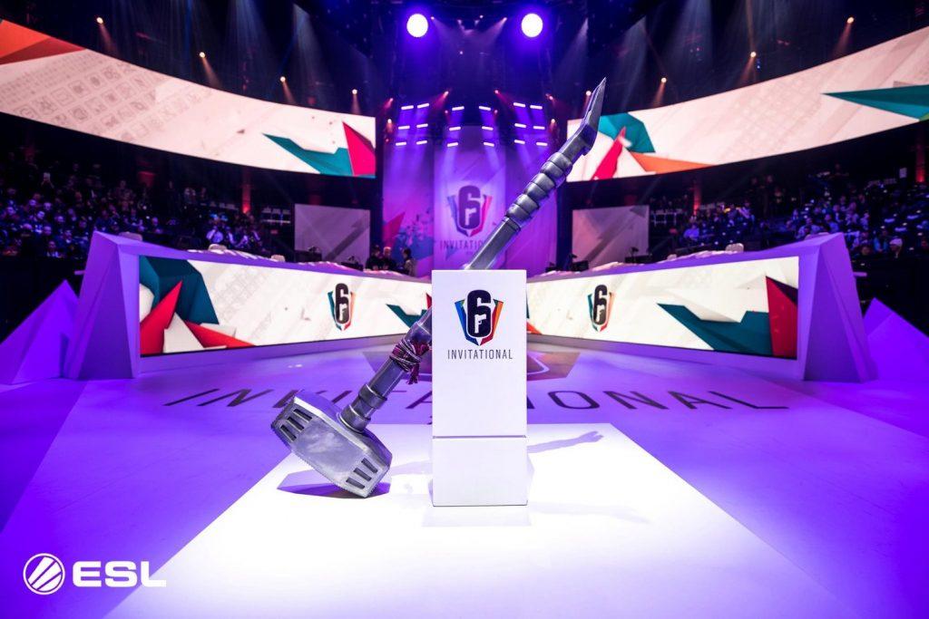 The Rainbow Six Invitational trophy.