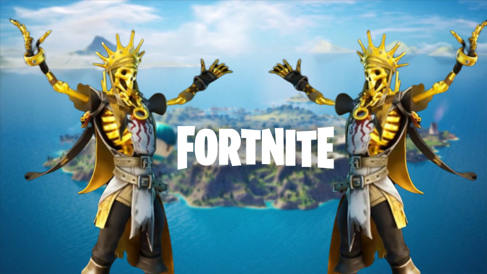 fortnite gold objects