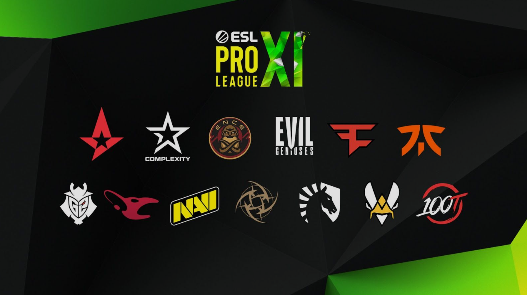 ESL's Louvre agreement founding teams.