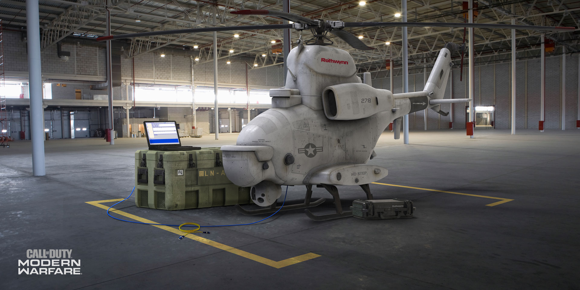 A Personal Radar killstreak from Modern Warfare.