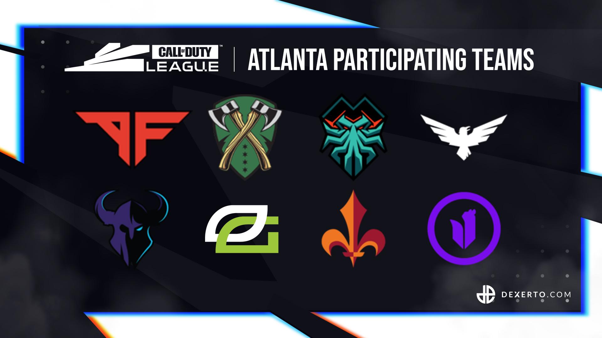 CDL Atlanta's teams.