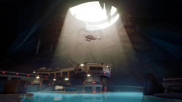 Fortnite's helipad from Season 2.