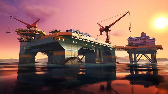 Fortnite's Season 2 Oil Rig