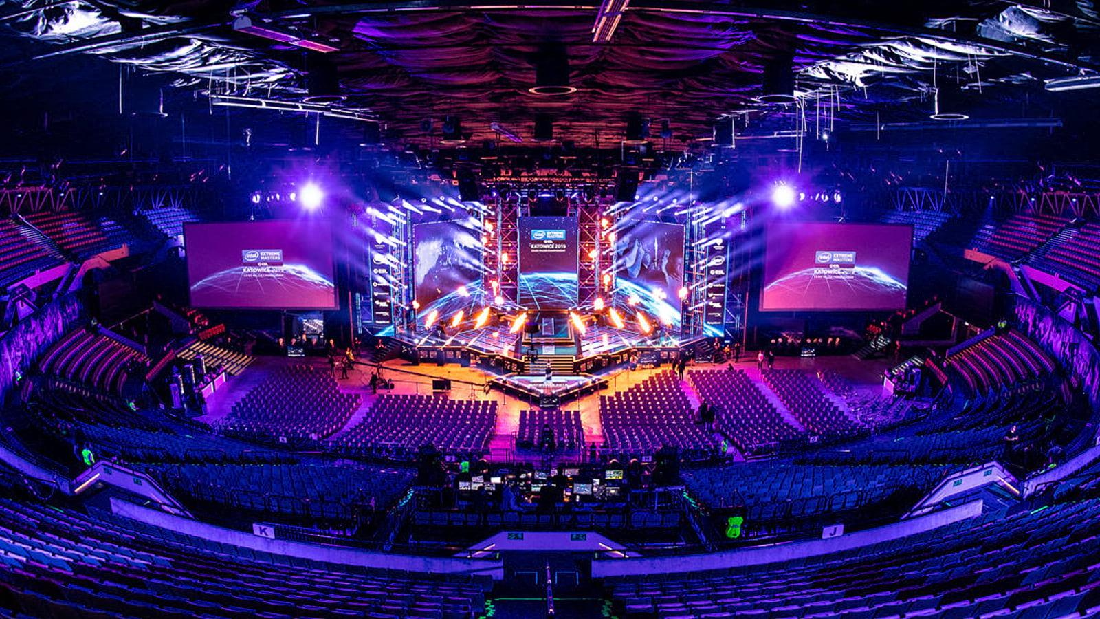 IEM Katowice arena empty