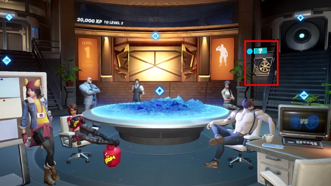 Deadpool secret room in Fortnite Season 2