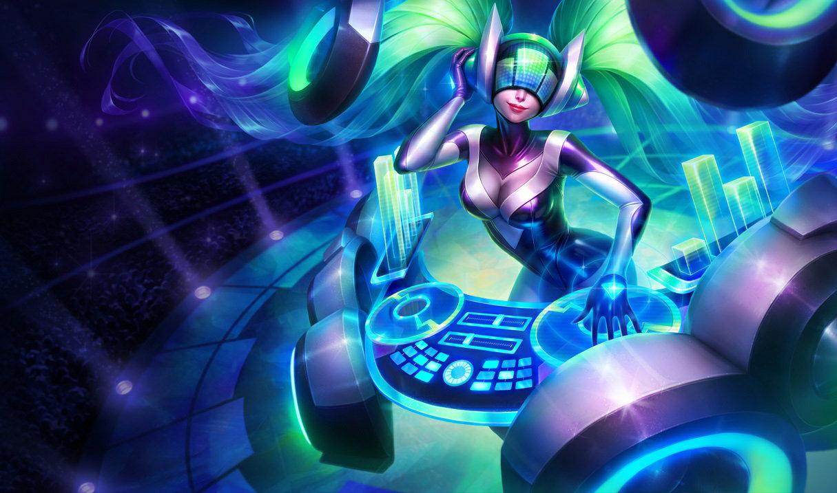DJ Sona skin for League of Legends
