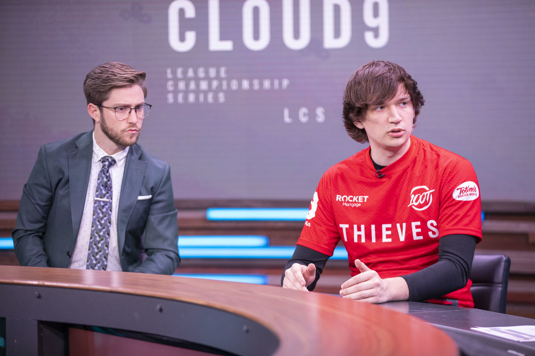 Meteos and Dash on LCS desk