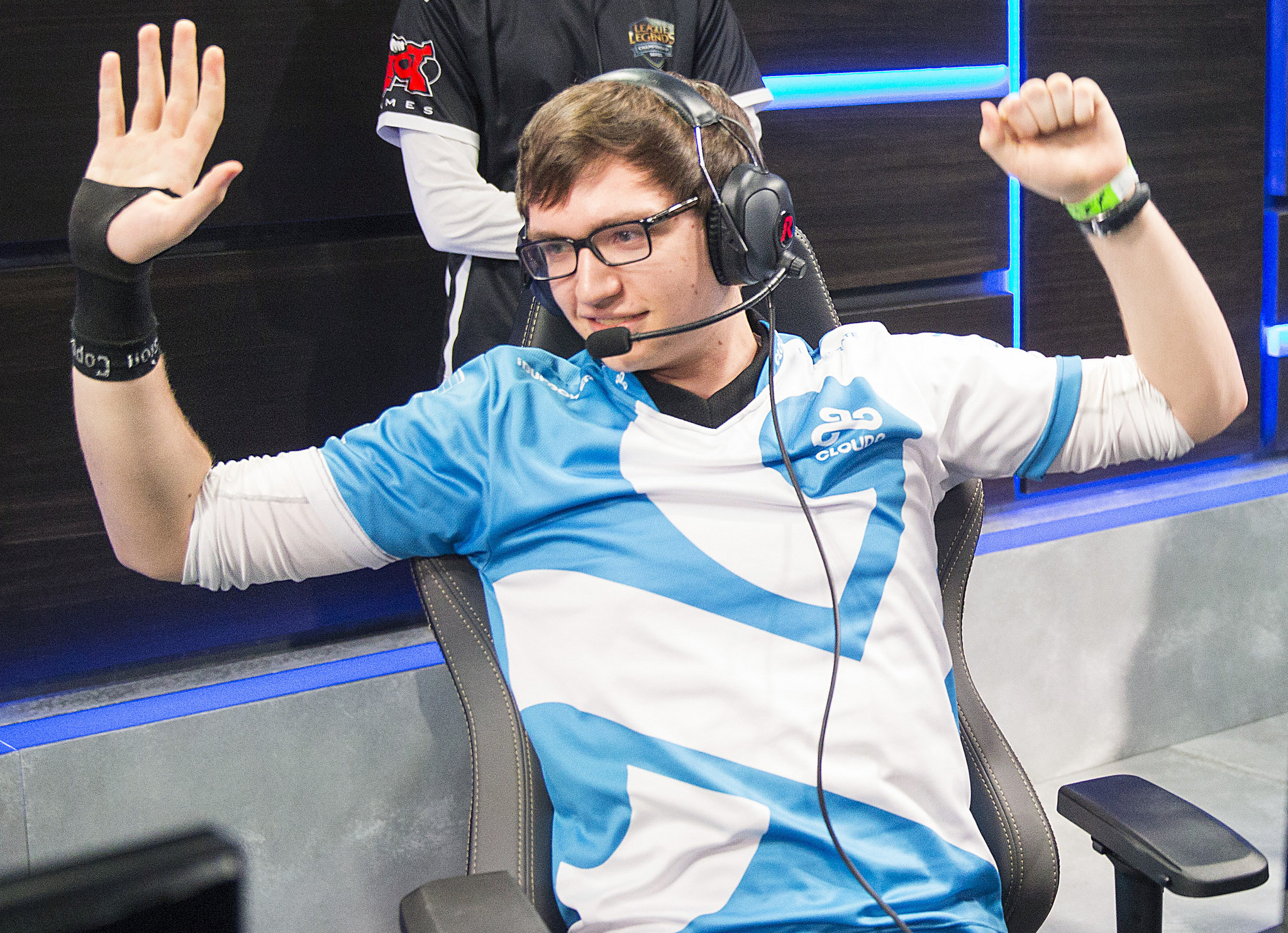 Meteos playing LCS for Cloud9