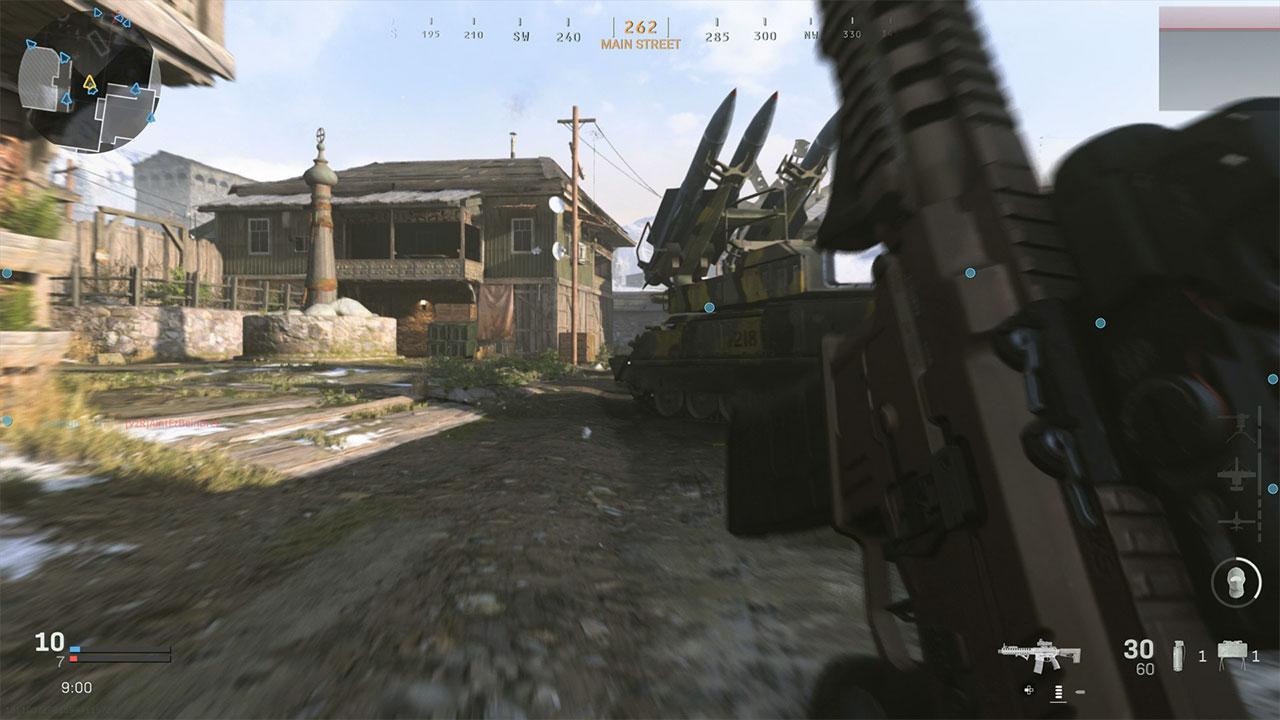 Tactical Sprint in Modern Warfare.
