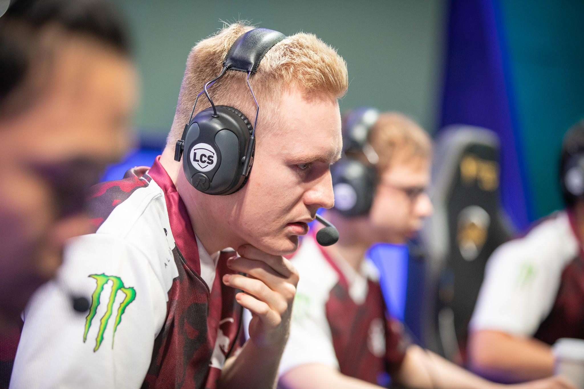 Broxah playing for Team Liquid in LCS