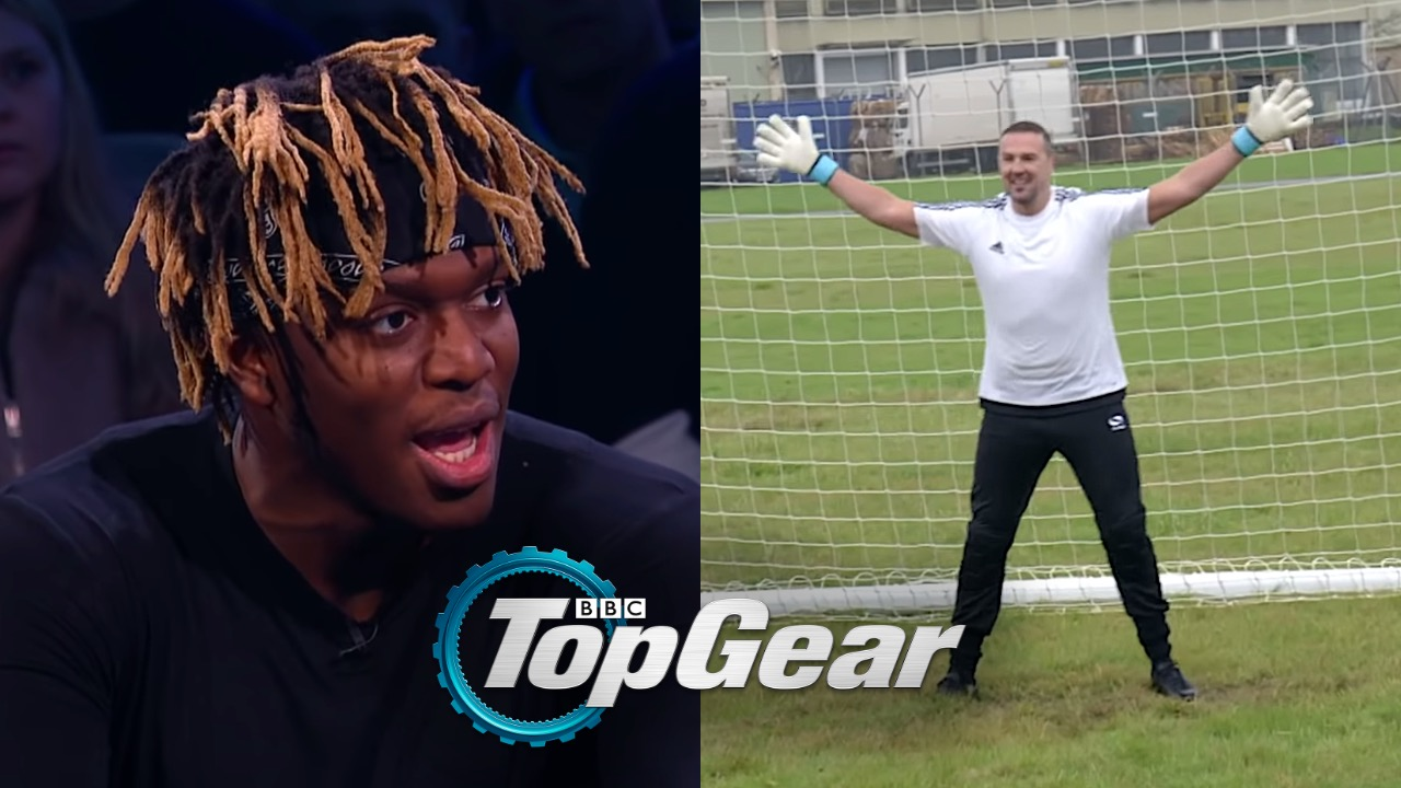 KSI and Paddy McGuinness Top Gear
