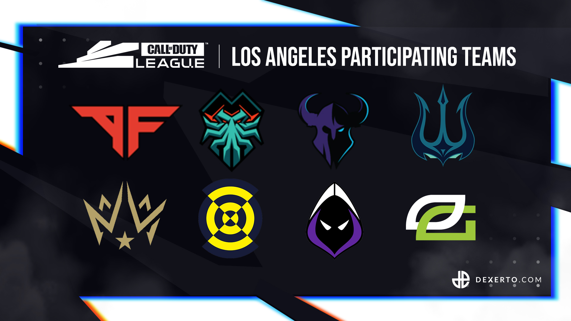 CDL LA's participating teams.