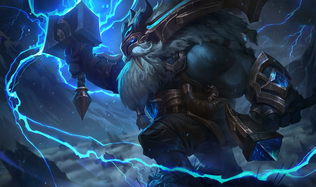 Thunder Lord Ornn skin for League of Legends