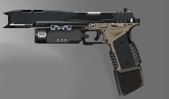 Smart Pistol from Titanfall