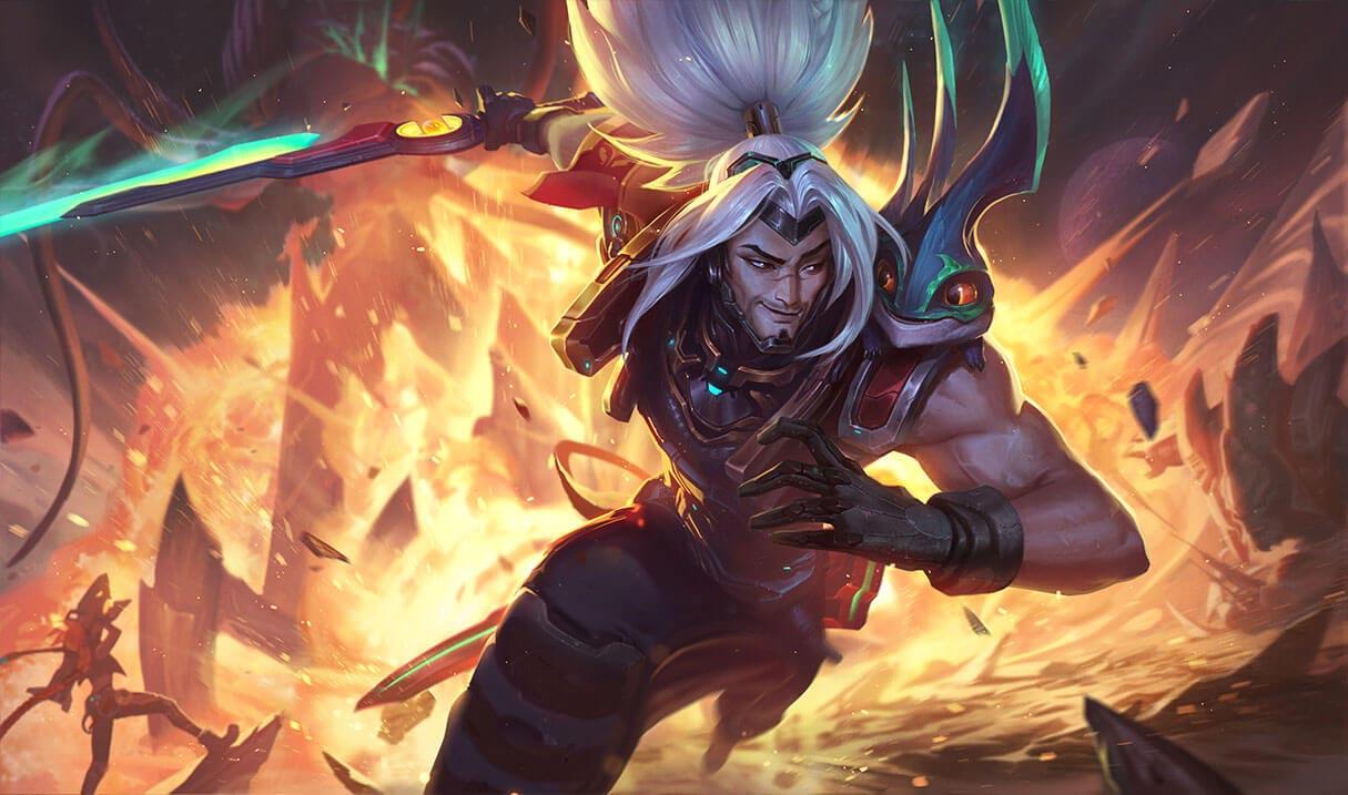 Odyssey Yasuo skin in League of Legends