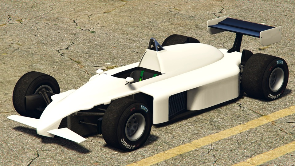 F1 car in GTA Online