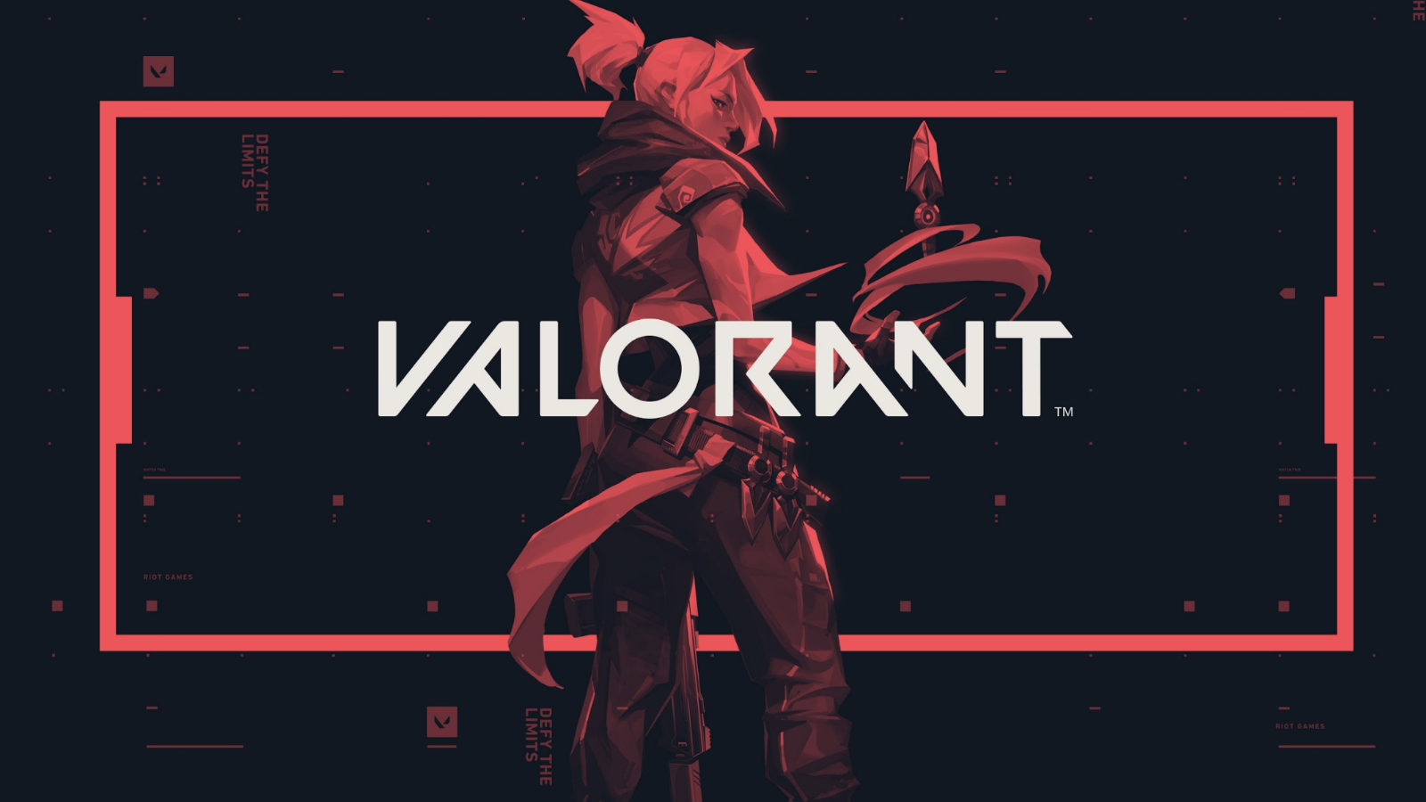 Riot Games Valorant character