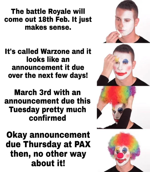 Warzone Clown Meme