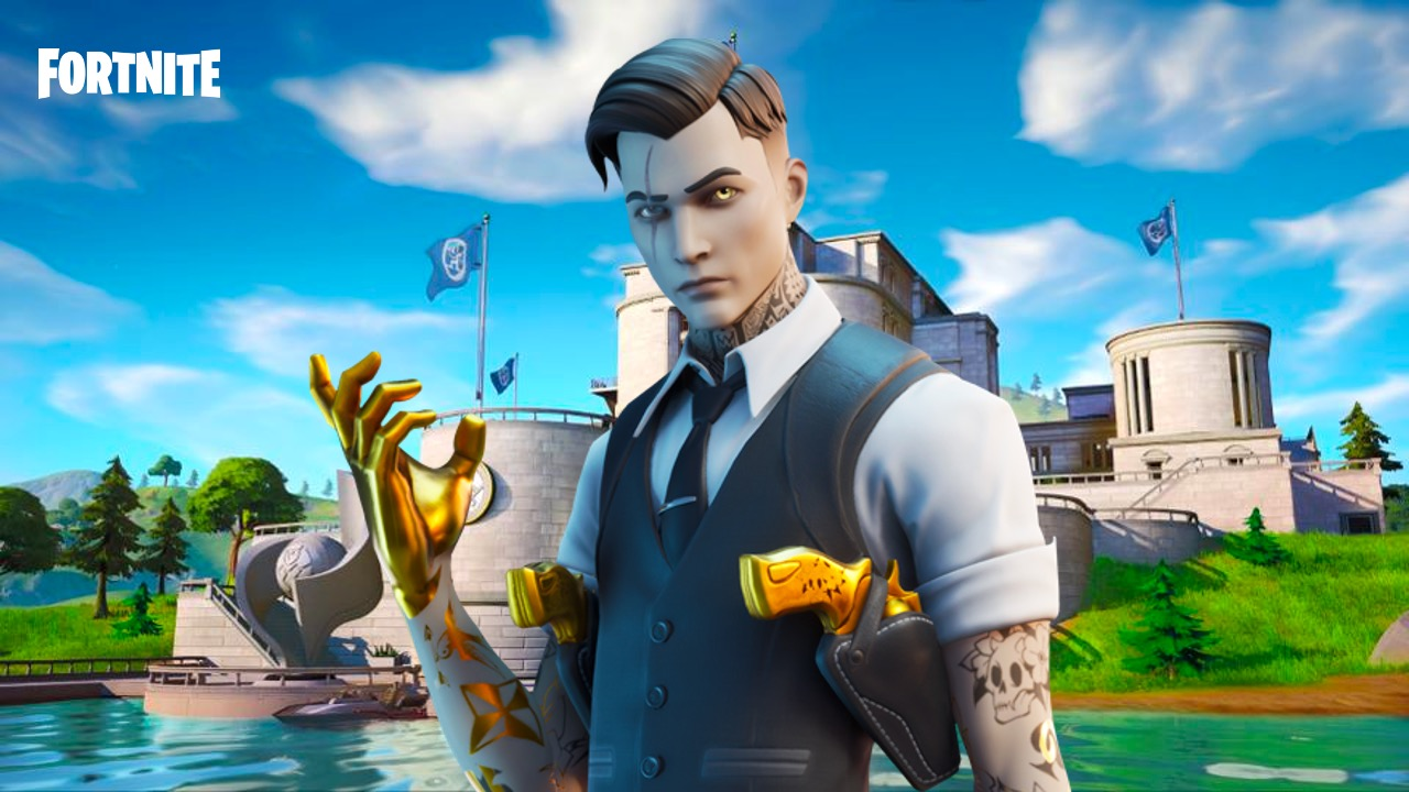 Midas in Fortnite at The Agency