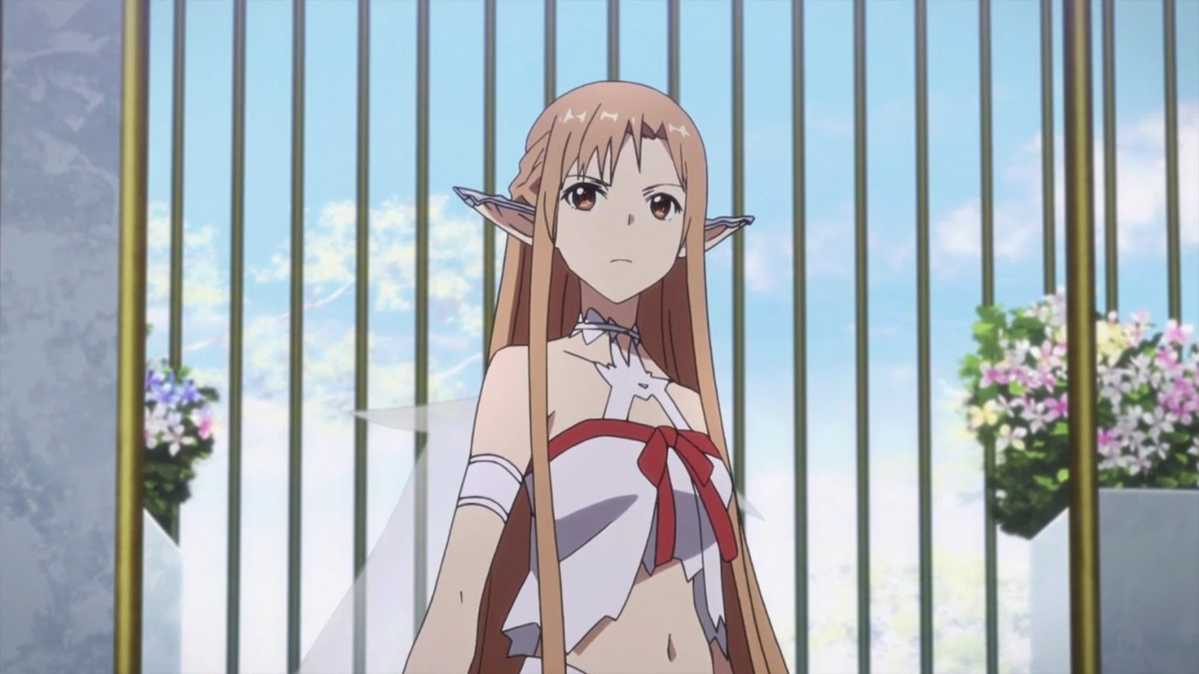 Asuna in Sword Art Online