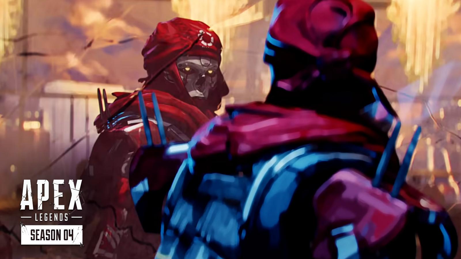 Revenant stares at a window in Apex Legends Season 4 trailer