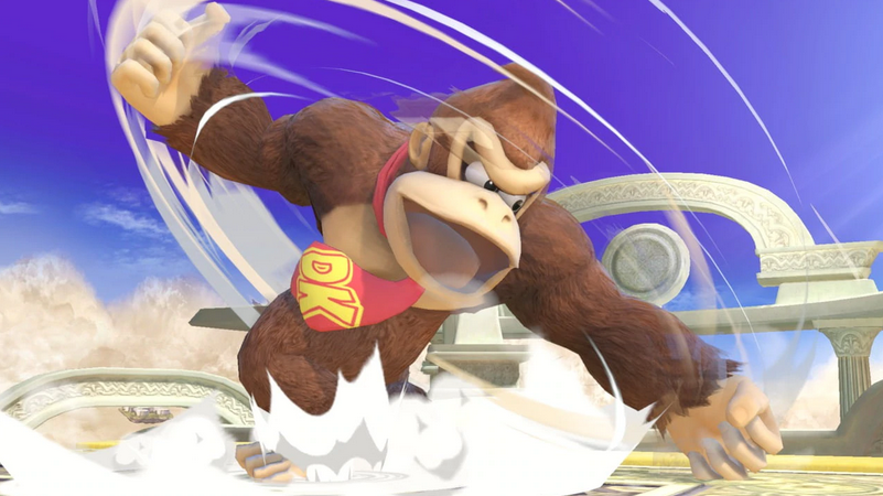 Donkey Kong in Smash