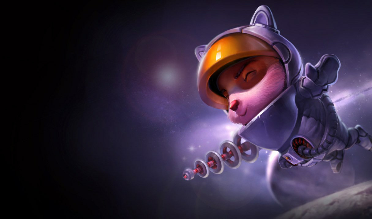 Astronaut Teemo skin for League of Legends