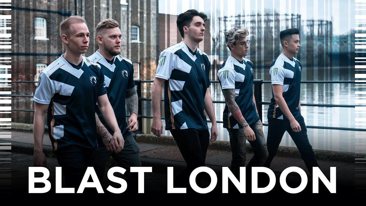 Team liquid ahead of BLAST London.
