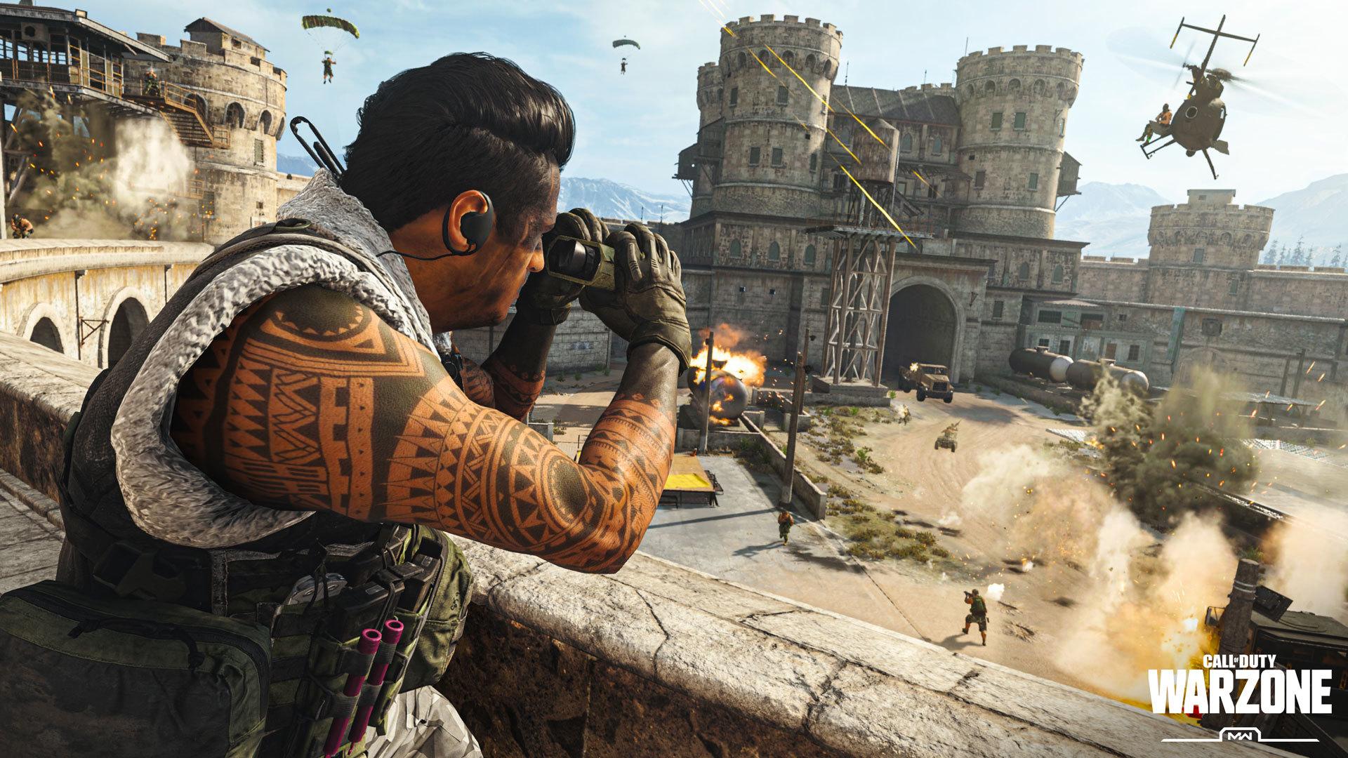 Call of Duty Warzone prison.