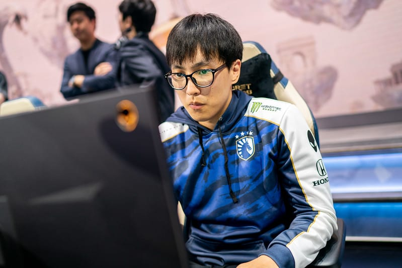 Doublelift at Worlds 2019