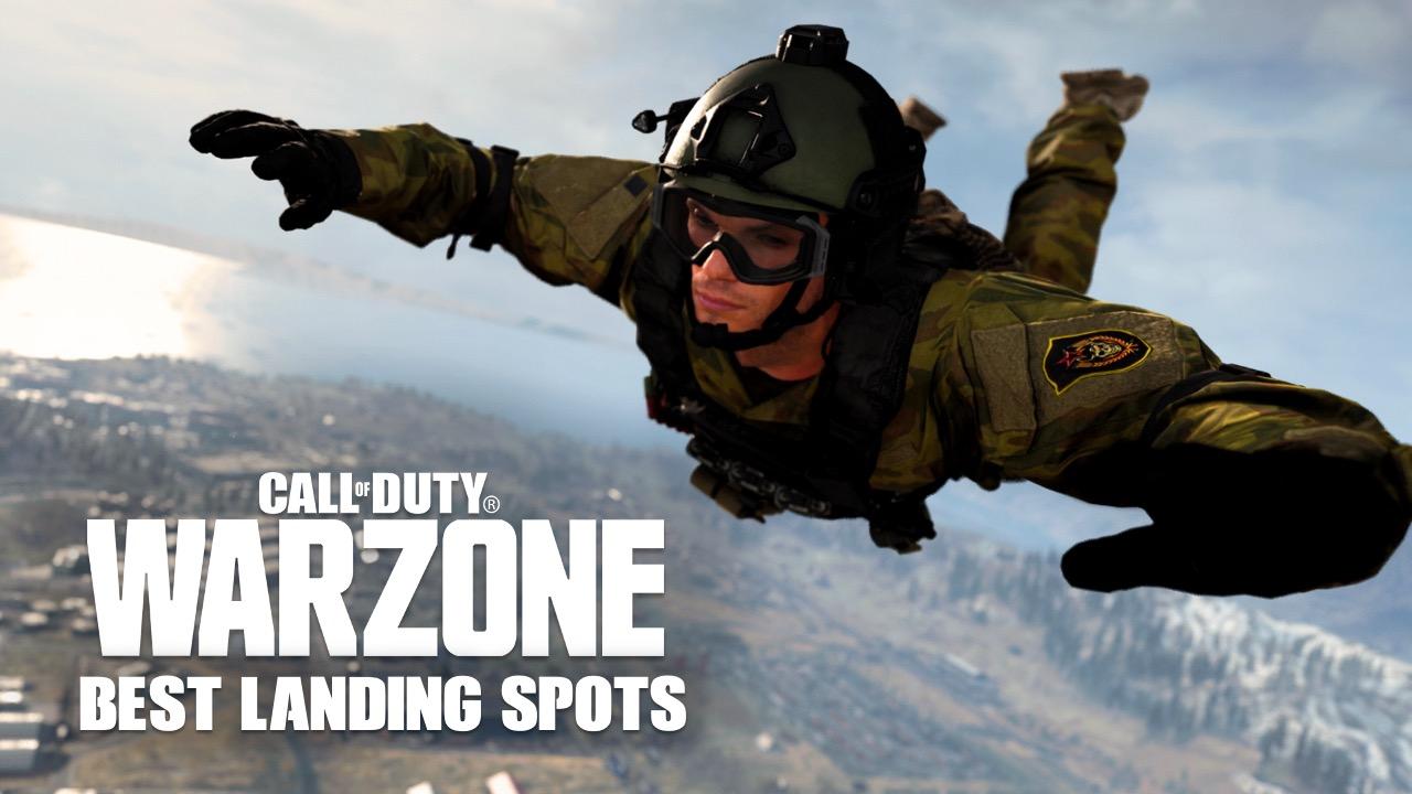 Best landing spots in CoD Warzone
