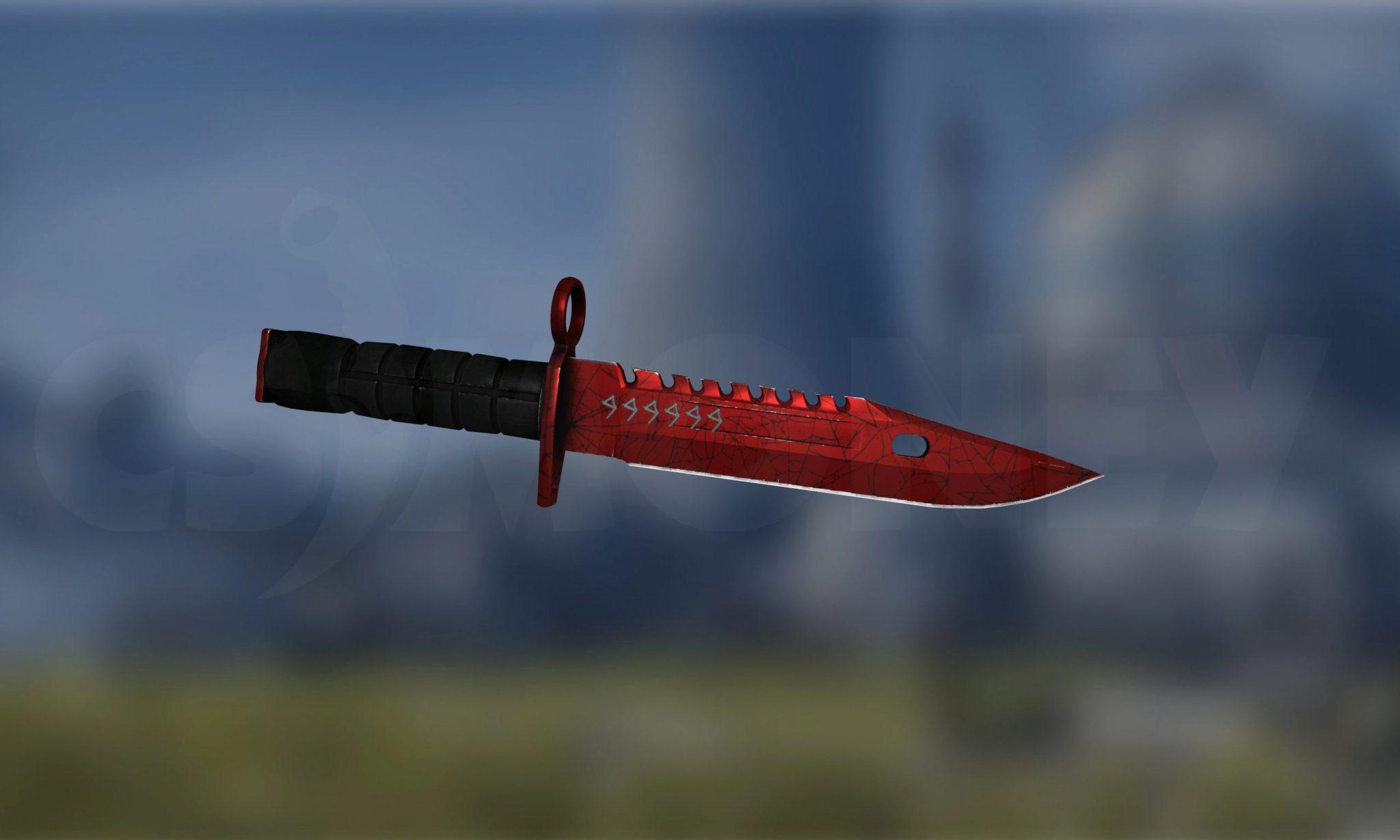 StatTrak M9 Bayonet Crimson Web (Factory New)