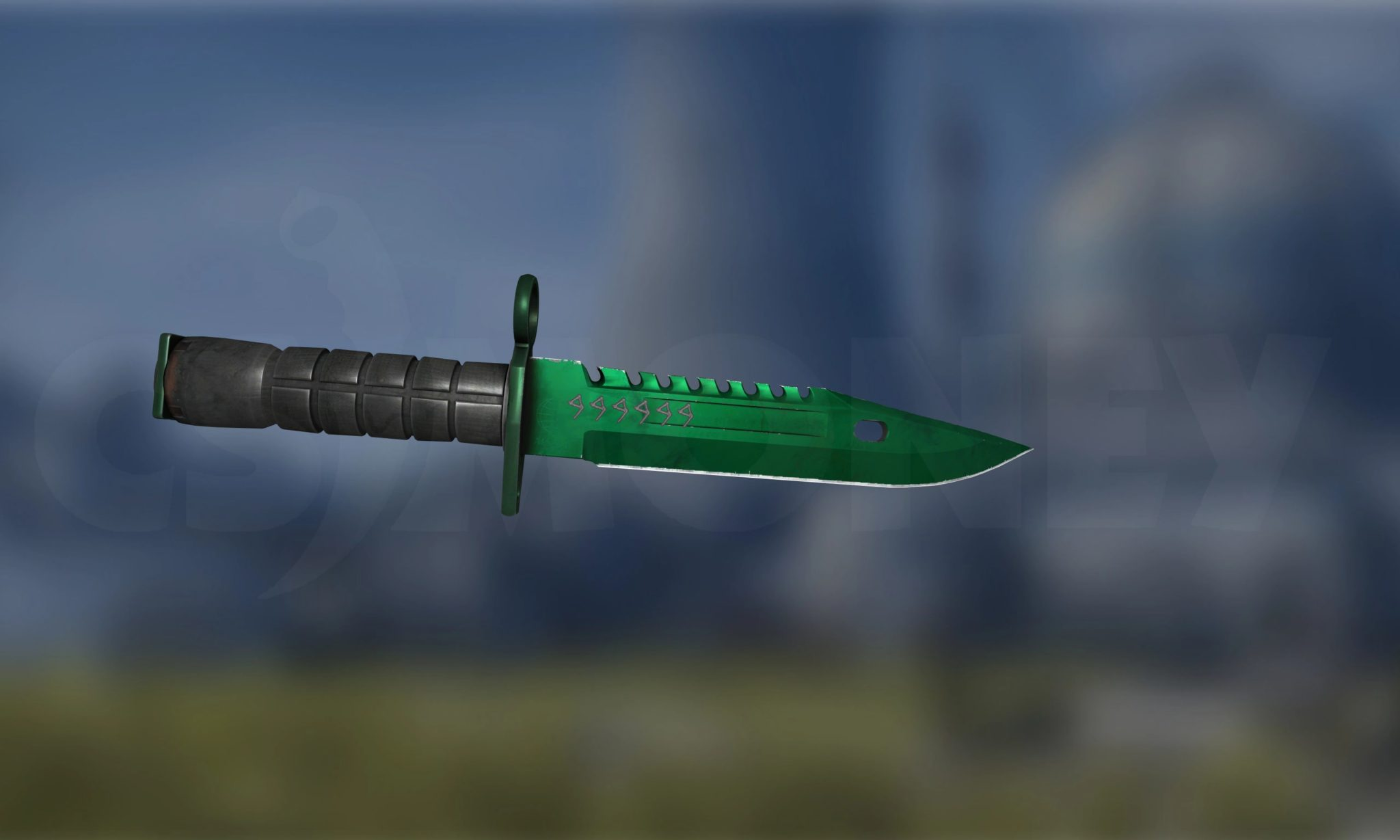 StatTrak M9 Bayonet Gamma Doppler Emerald (Factory New)