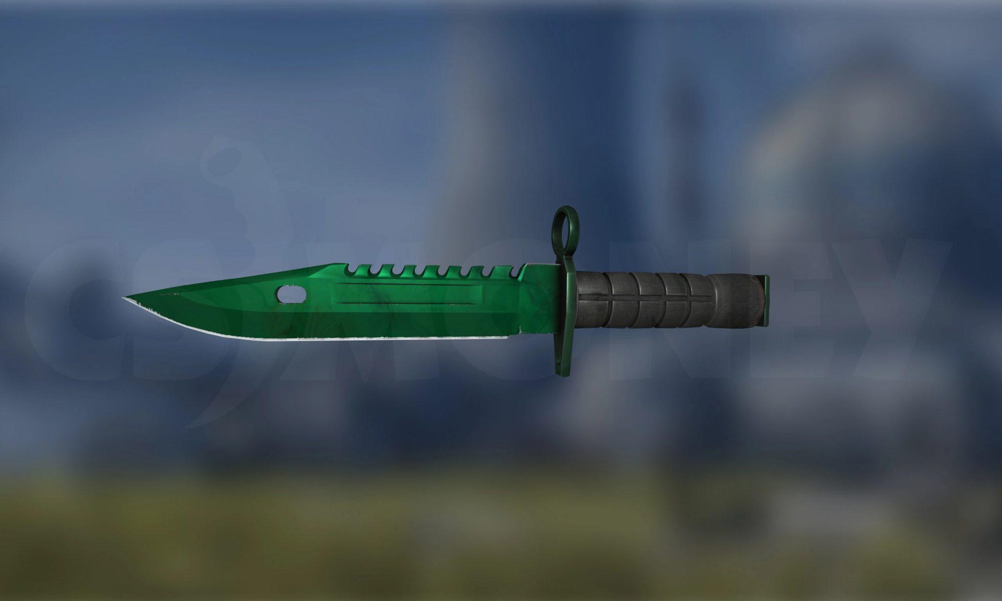 M9 Bayonet Gamma Doppler Emerald (Factory New)