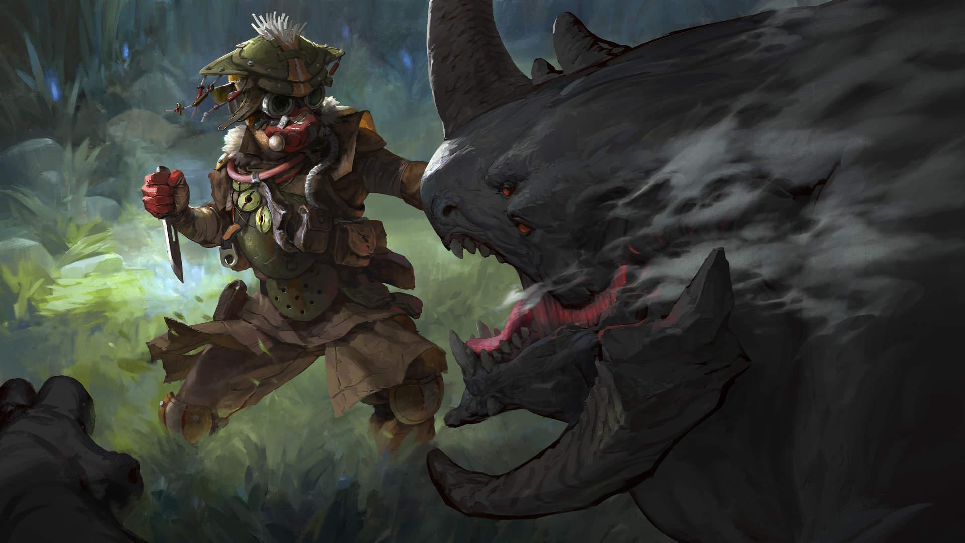 Bloodhound in Apex Legends.