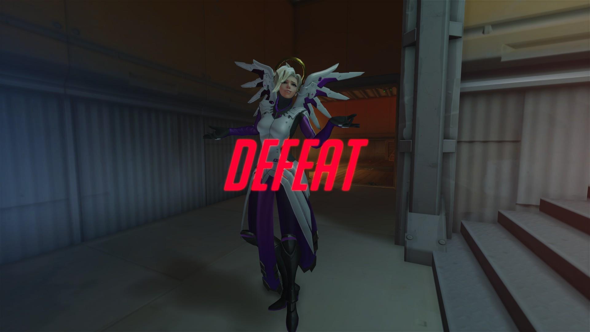 Overwatch defeat screen