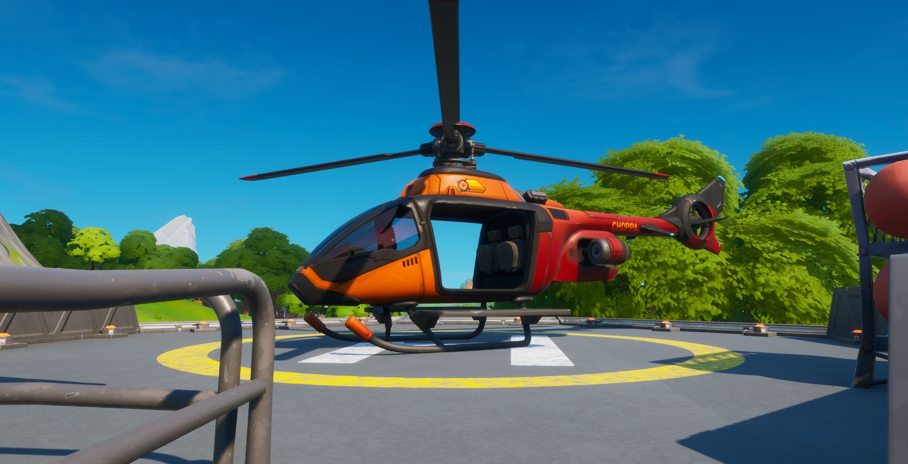 Choppa or helicopter in Fortnite