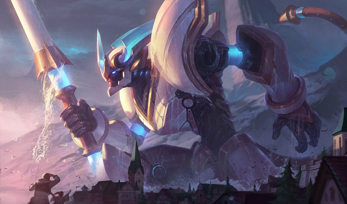 Lancer Stratus Wukong skin for League of Legends