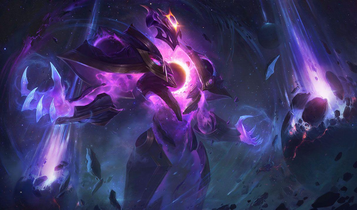 Dark Star Xerath splash art for League of Legends