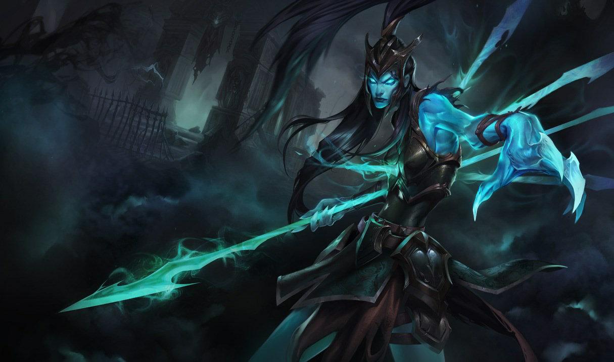Kalista base splash art for League of Legends