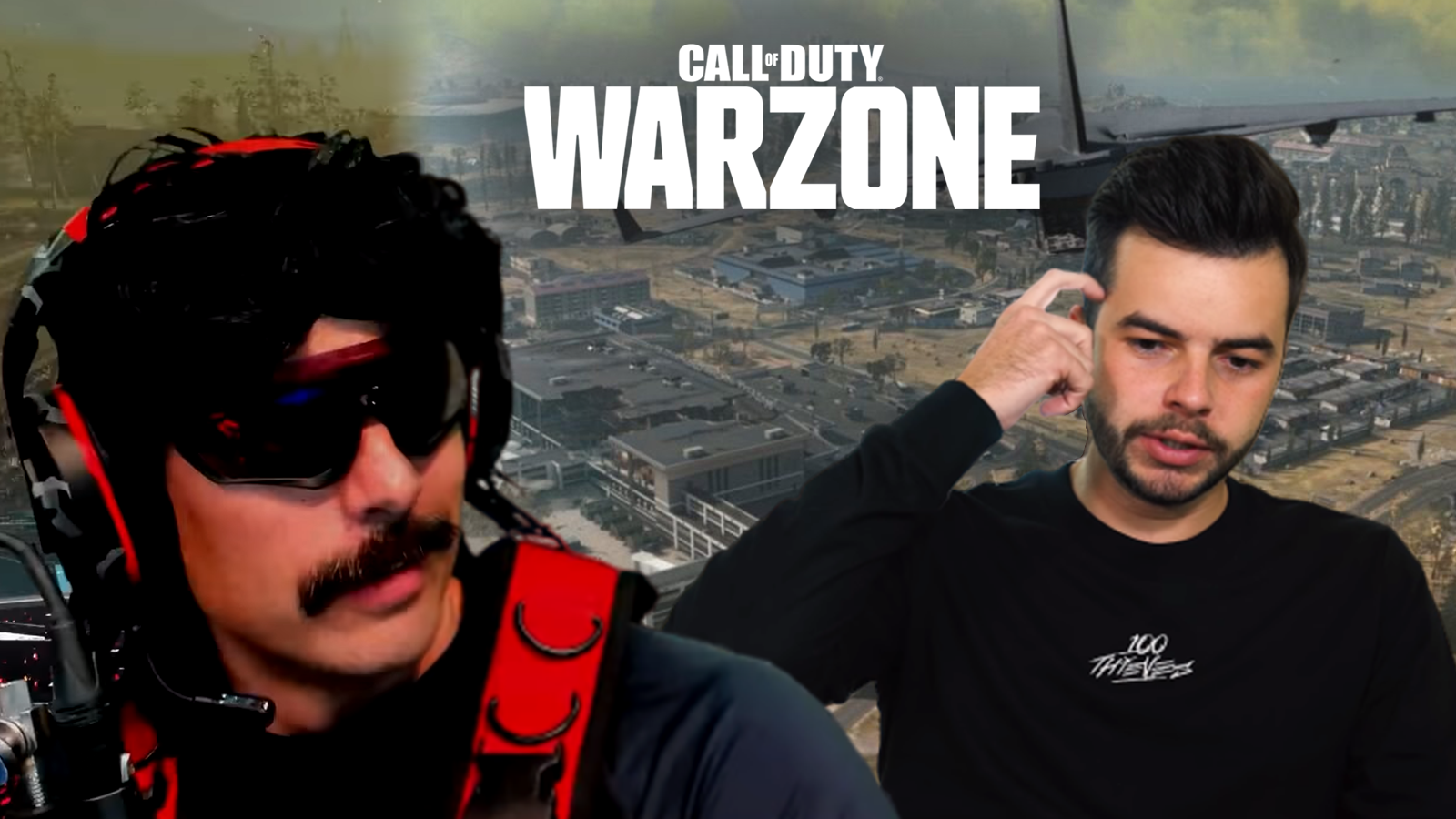 Dr Disrespect roasted Nadeshot for a hilarious Warzone play