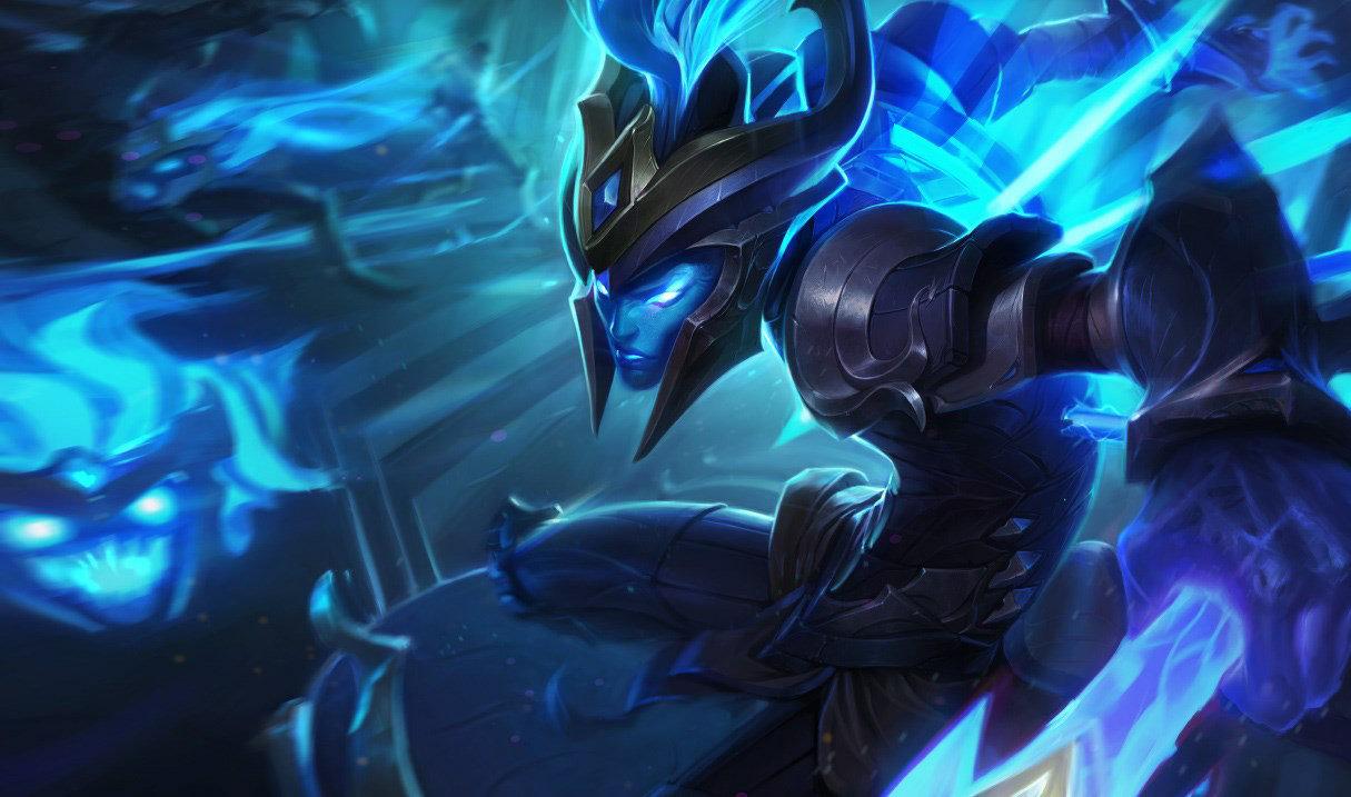 Championship Kalista splash art for League of Legends