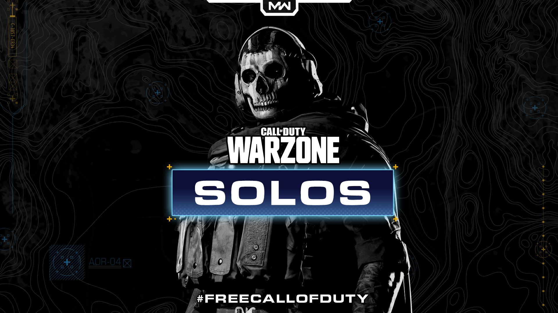 Ghost in Call of Duty: Warzone.