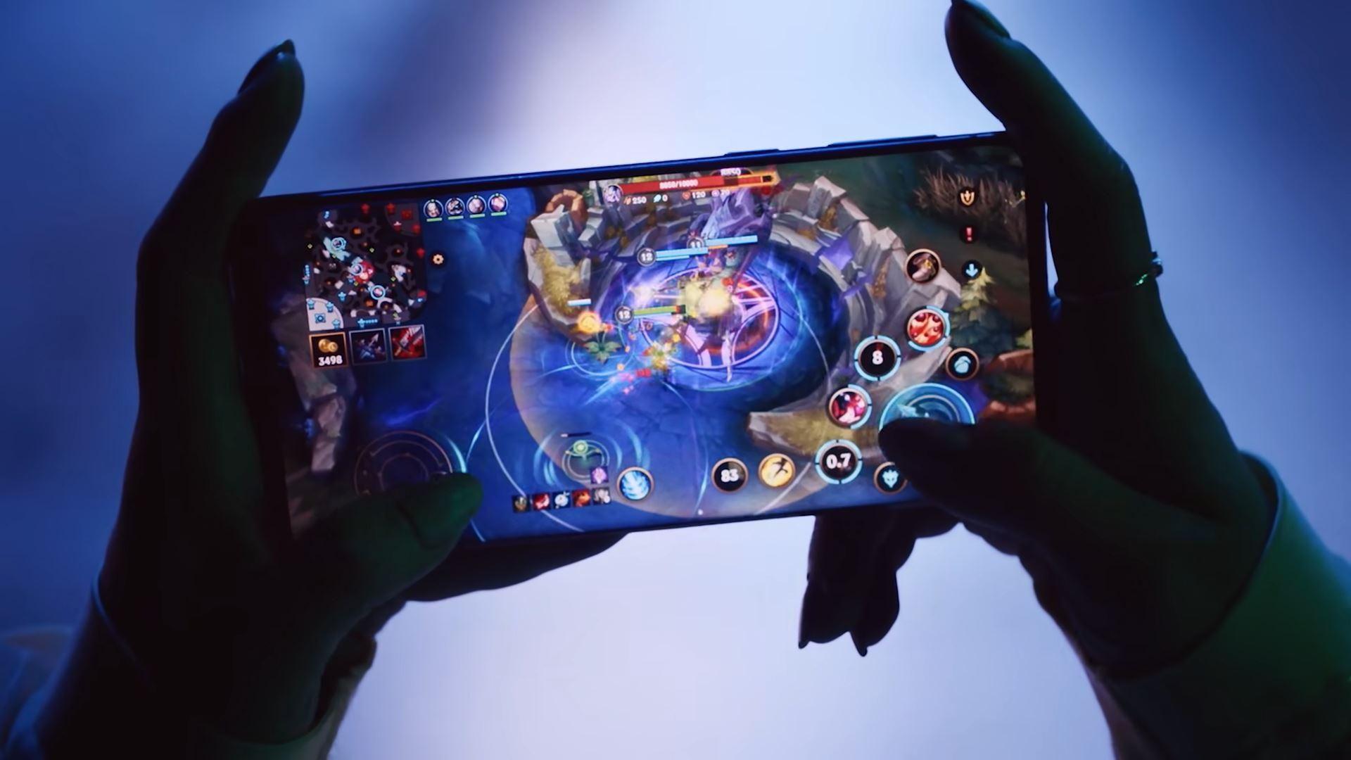 Wild Rift gameplay on mobile