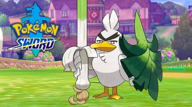 Sirfetch'd Pokemon Shield