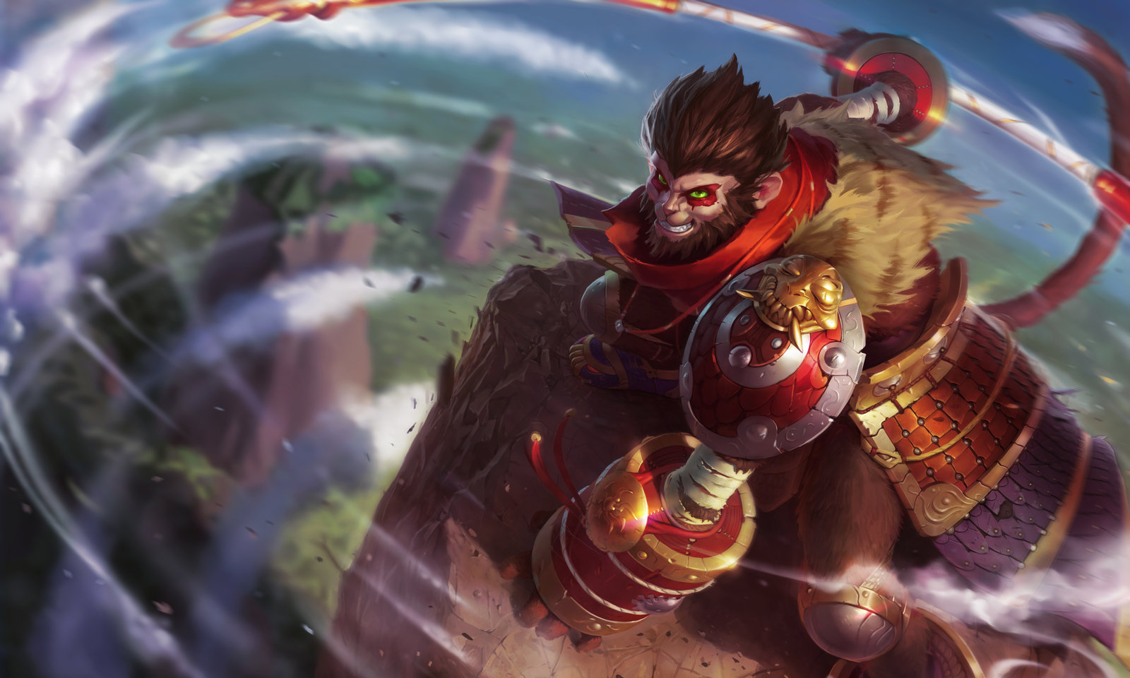 Wukong lands on the Rift too strong