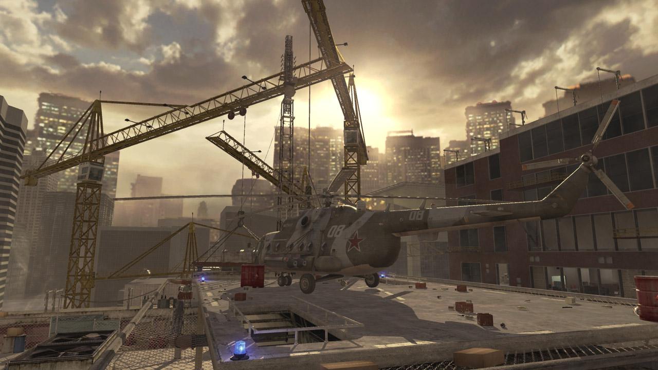 Modern Warfare 2's Highrise.