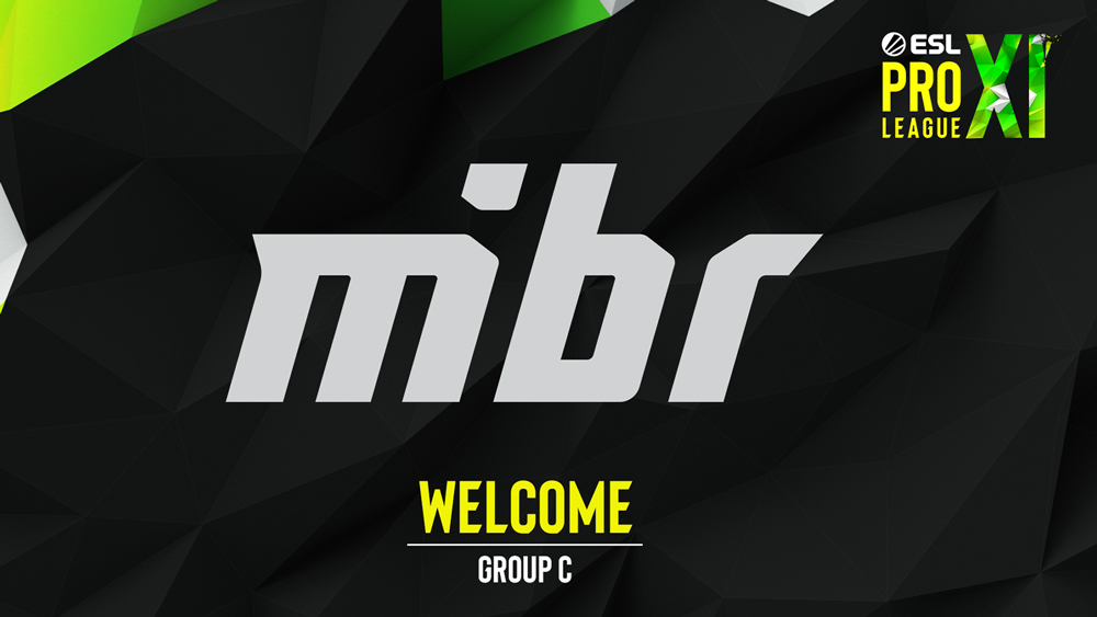 MiBR added to ESL Pro League Season 11.