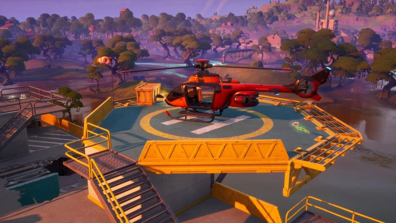 Helicopters in fortnite